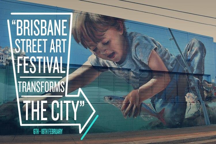 Brisbane Street Art Festival 2016