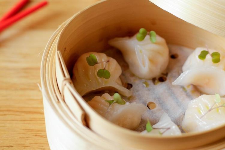 Happiness Hours - Prawn Dumplings
