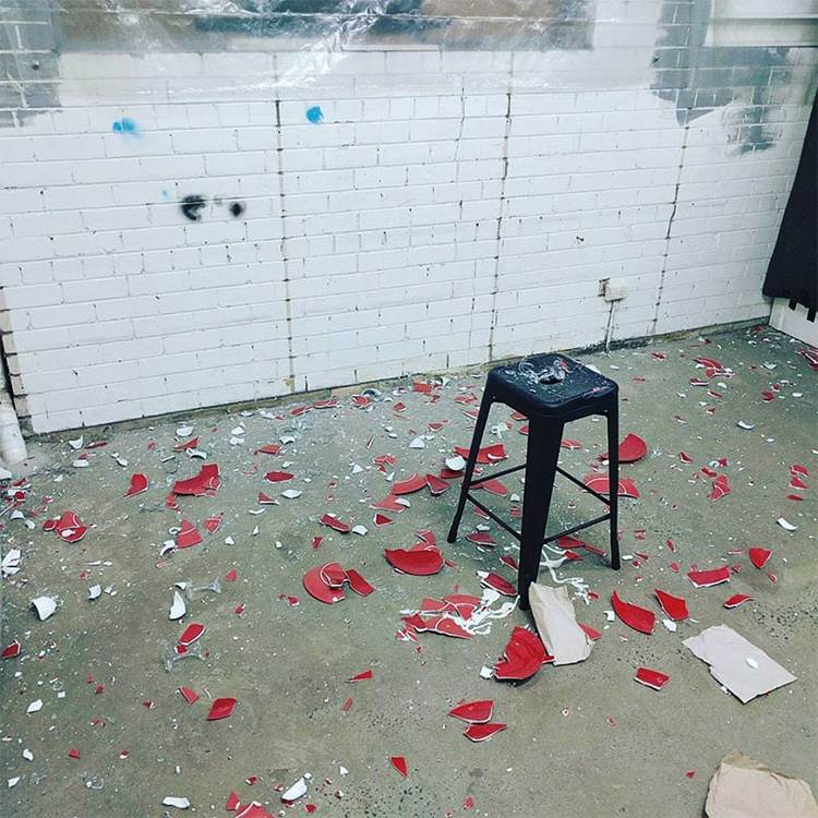 The Break Room - aftermath