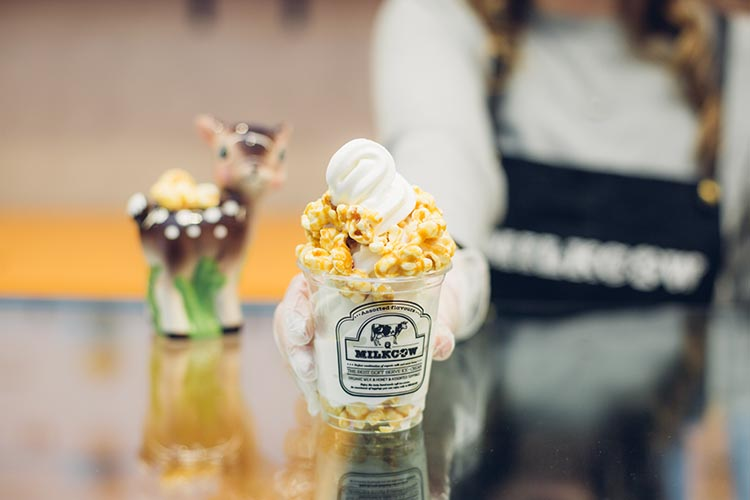 Milkcow - caramel popcorn