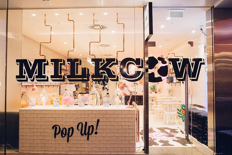 Milkcow - pop up
