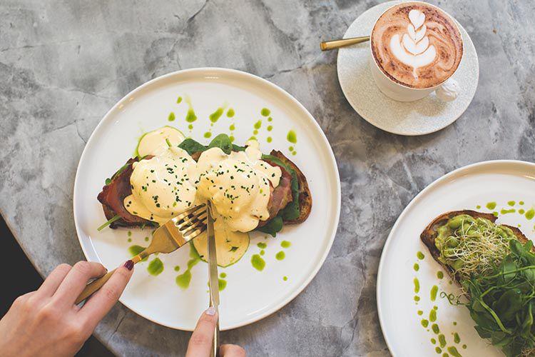 The Rabbit Hole - Breakfast Toast Adventure and Earl Grey Hot Chocolate