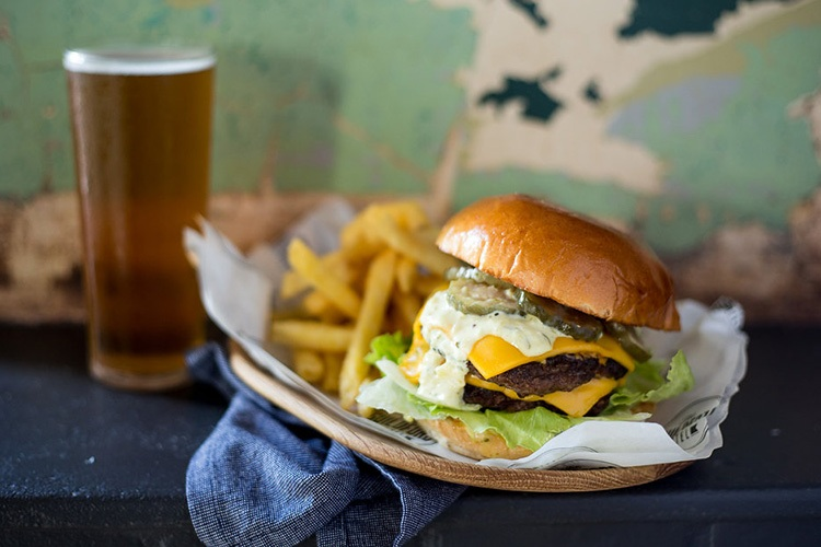 the guildford hotel burger