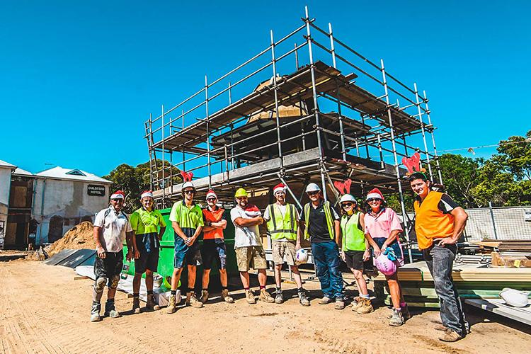 the guildford hotel construction crew