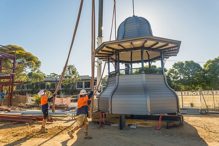 the guildford hotel dome construction