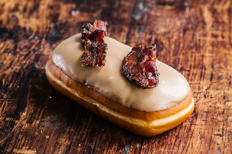 grumpy donut maple bacon