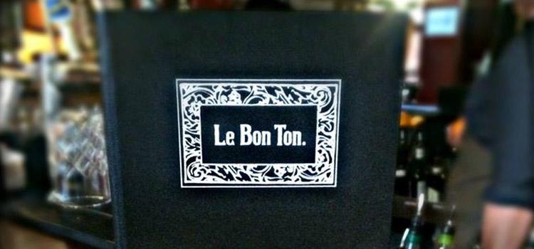 Image credit: Le Bon Ton Facebook