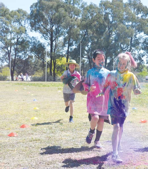 Colourful times for Rushworth schools image