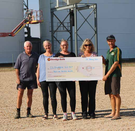 Colbo Silo Art's $21,000 boost from Rushworth & District Community Bank Grants Program image