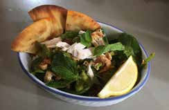 Tandoori Chicken Salad with Mint Dressing image