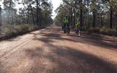 Winter on Wheels - Bike touring in the Waranga area image
