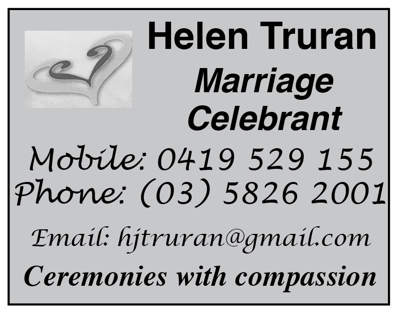 Helen Truran Marriage Celebrant image