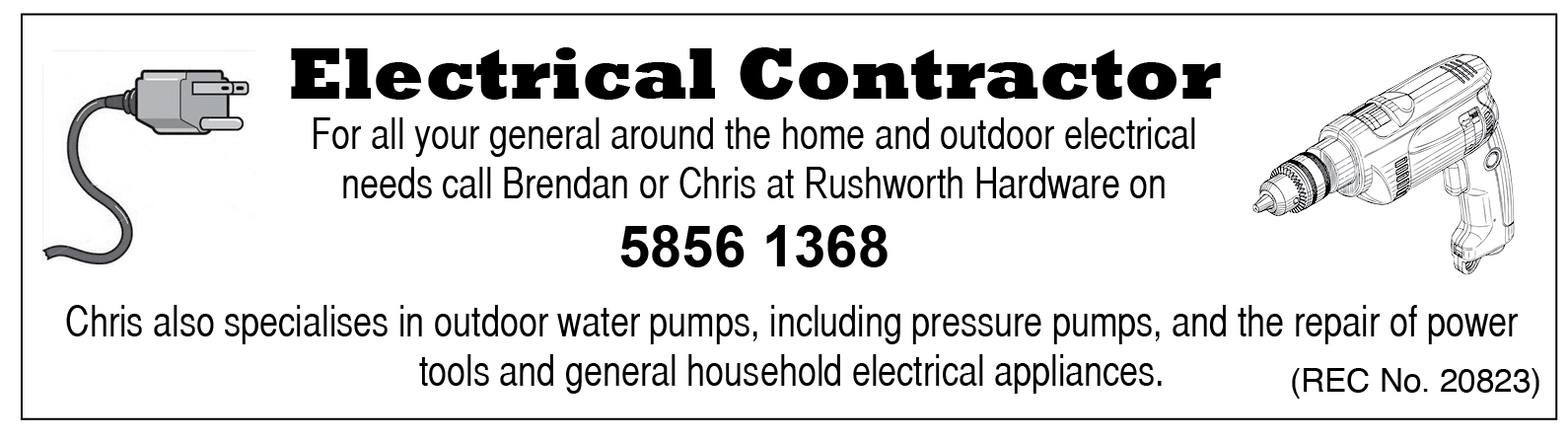 Rushworth Hardware Electrical image