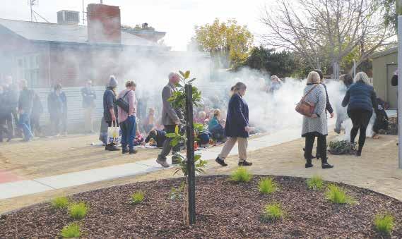 Stanhope Health Centre opens with Aboriginal Smoking Ceremony image