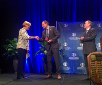 Outstanding Achievement in International Education