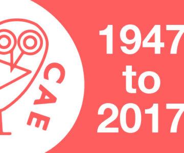 CAE Celebrates 70 Years