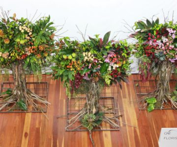 Budding Florists Display Artfully Arranged Blooms