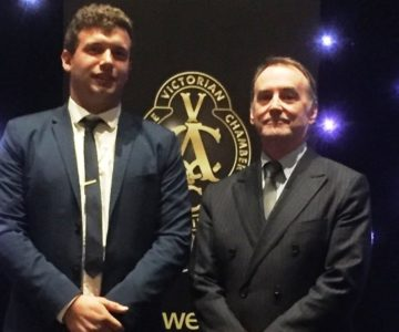 Box Hill Institute Alumnus wins VACC Outstanding Apprentice Award 2018