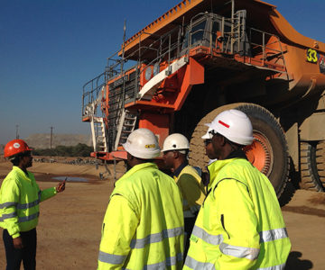 Training Truck Drivers in Zambia