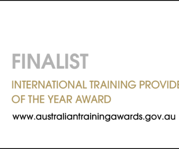 Training Award Finalist