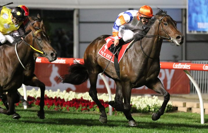 Hey Doc Wins Winterbottom Stakes 2019 for Team McEvoy