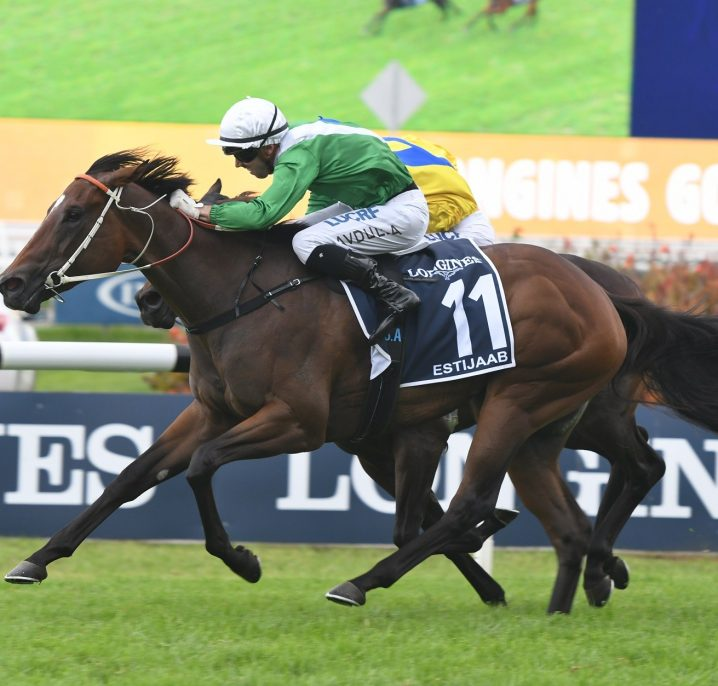 Estijaab Is The 2018 Golden Slipper Winner for Team Hawkes