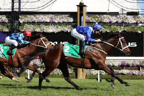 Winx Digs Deep in 2018 Turnbull Stakes Win