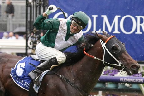 Exceedance Beats Home Bivouac for 2019 Coolmore Stud Stakes Win