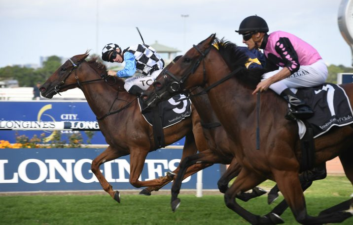 2020 The Galaxy Winner I Am Excited Targets Robert Sangster Stakes