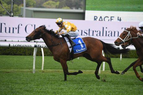 Tea Rose Winner Dame Giselle Firms in 2020 Flight Stakes Betting