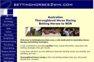Betting Horses 2 Win