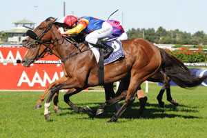 Kathy O'Hara wins first Group 1 on Ofcourseican