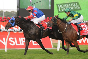 Waterhouse takes out fourth Golden Slipper with Pierro