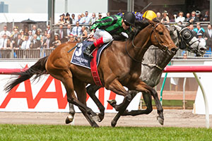 Alcopop Scores First Group 1 in Mackinnon Stakes