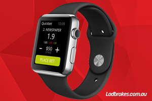 Ladbrokes First With Apple Watch Betting App