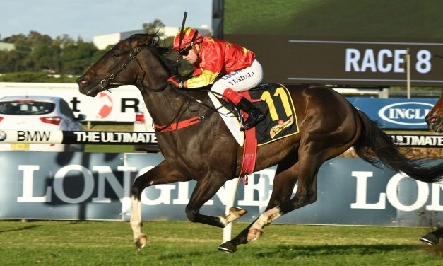 Calanda is the 2017 Ramornie Handicap Winner