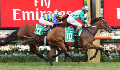 2017 Caulfield Cup Results: Boom Time Wins