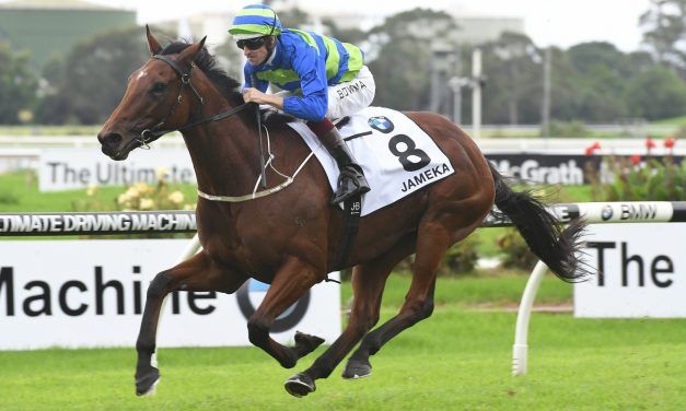 Jameka one step closer to a race track return