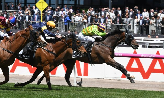 Cismontane into 2017 Melbourne Cup field with Lexus Stakes win