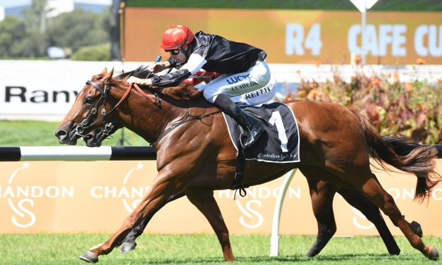Written By keeps Golden Slipper chances alive with win in Pago Pago Stakes
