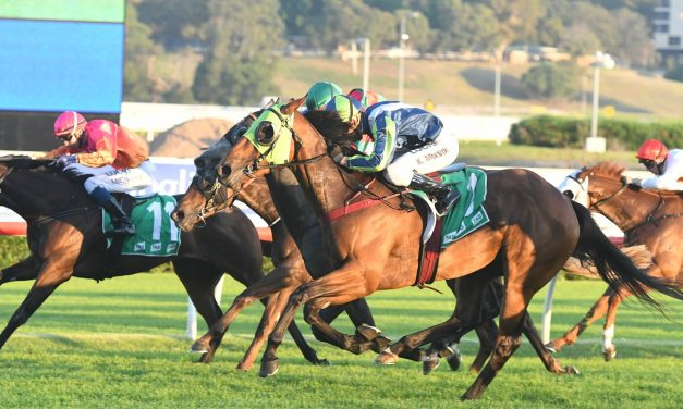 Luvaluva lays down Australian Oaks claims with Adrian Knox Stakes win