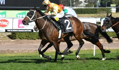 2018 Doomben Cup winner Comin' Through to be a force in the Spring