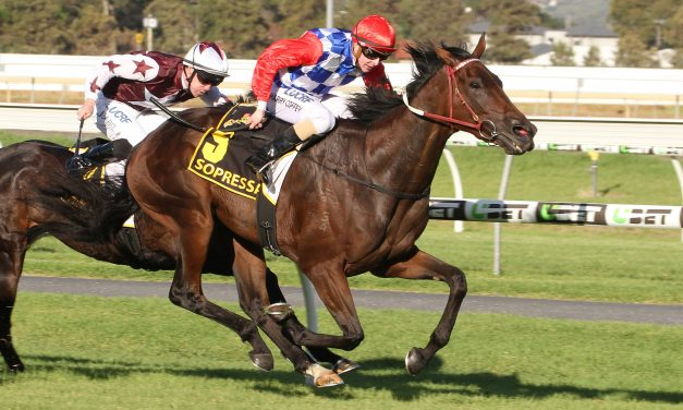 Coffey scores 1st G1 win on Sopressa in Australasian Oaks