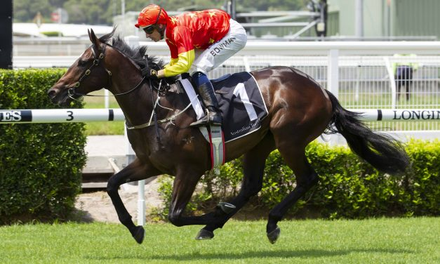Hightail makes late charge for 2019 Magic Millions 2yo Classic