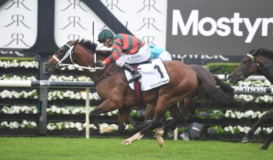 The Autumn Sun too powerful to win 2019 Randwick Guineas