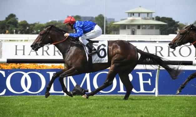 Kiamichi into Golden Slipper with all the way Magic Night Stakes win