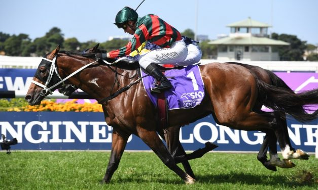 The Autumn Sun rises to the occasion with tough 2019 Rosehill Guineas win