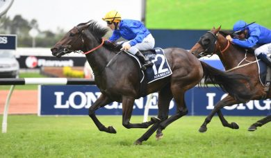 Kiamichi leads home Godolphin trifecta in 2019 Golden Slipper