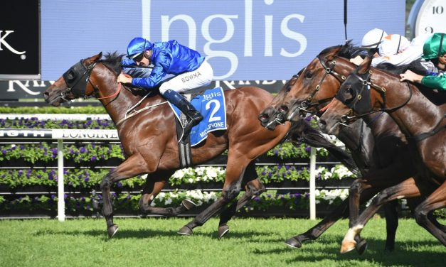 Microphone makes amends for Golden Slipper defeat with 2019 Inglis Sires' win