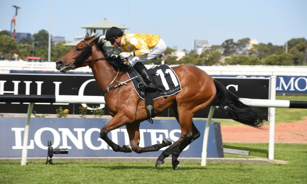 Dame Giselle secures Golden Slipper spot with 2019 Golden Gift win